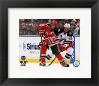 Framed Patrik Elias 2014 NHL Stadium Series Action