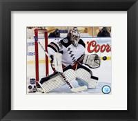 Framed Henrik Lundqvist 2014 NHL Stadium Series Action