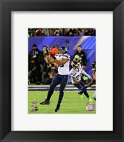 Framed Malcolm Smith Interception Super Bowl XLVIII