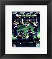 Framed Seattle Seahawks The Legion of Boom Composite