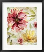Framed Morning Petals II