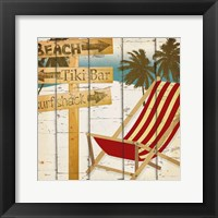 Going to the Beach II Framed Print