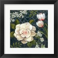 Midnight Garden I Framed Print