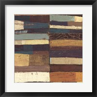 Framed Eileen V Blue
