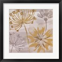 Flowers in the Wind II Framed Print