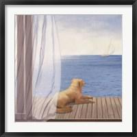 Framed Blue Breeze II