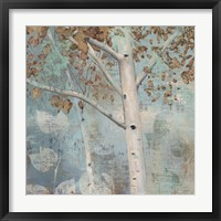 Golden Forest I Framed Print