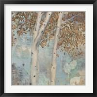 Golden Forest II Framed Print