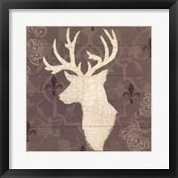 Rustic Elegance II Framed Print