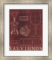 Framed Wine Blueprint IV v