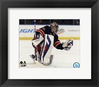 Framed Henrik Lundqvist 2013-14 on the ice