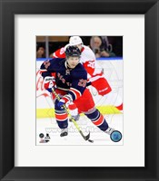 Framed Martin St. Louis 2013-14 Action