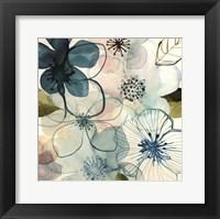 Framed Water Blossoms I