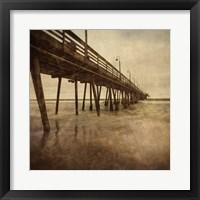 Vintage Pier I Framed Print