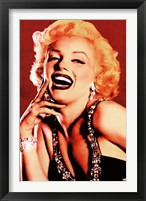 Framed Marilyn Monroe - Flirty