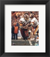 Framed John Riggins Action