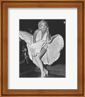 Framed Marilyn Monroe 1954, New York City