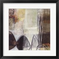 Framed Abstract Pebble I