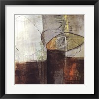 Framed Abstract Pebble IV