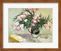 Framed Oleanders and Books, 1888