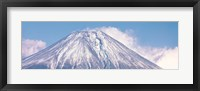 Framed Snow Capped Mt Fuji Yamanashi Japan
