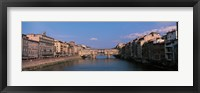 Framed Vecchio Bridge Florence Italy