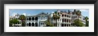 Framed Houses along Battery Street, Charleston, South Carolina