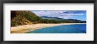 Framed Makena Beach, Maui, Hawaii