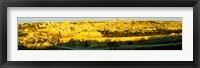 Framed High angle view of a city, Jerusalem, Israel