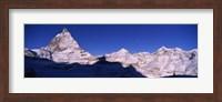 Framed Mt Matterhorn from Riffelberg, Zermatt, Valais Canton, Switzerland