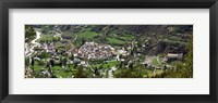 Framed High angle view of a town, Annot, Alpes-de-Haute-Provence, Provence-Alpes-Cote d'Azur, France