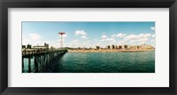 Framed People on the beach, Coney Island, Brooklyn, Manhattan, New York City, New York State, USA