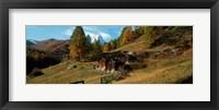 Framed Valais Canton, Switzerland