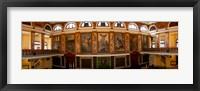 Framed Interiors of the Aula Magna, University of Havana, Havana, Cuba