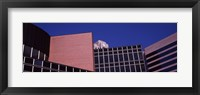 Framed Low angle view of a modern building, St. Louis, Missouri, USA