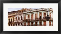 Framed Low angle view of buildings, Havana, Cuba