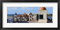 Framed Traditional buildings of Havana, Cuba