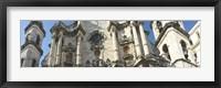 Framed Facade of a cathedral, Havana, Cuba