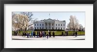 Framed White House, Washington DC