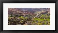 Framed Dades Gorges, Morocco
