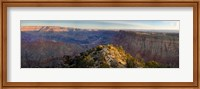 Framed High angle view of Desert Point, South Rim, Grand Canyon, Grand Canyon National Park, Arizona, USA