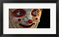 Framed Close-up of a clown at a shop, El Ingenio, Barcelona, Catalonia, Spain