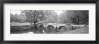 Framed Burnside Bridge Antietam National Battlefield Maryland USA