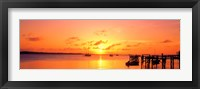 Framed Ocean sunset Bahamas