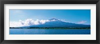 Framed Mt Fuji & Tanuki-Ko Shizuoka Japan
