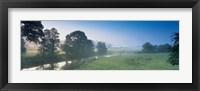 Framed Taw River near Barnstaple N Devon England