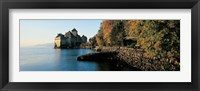Framed Chillon Castle Switzerland