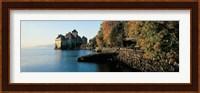 Framed Chillon Castle Switzerland