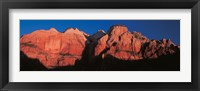 Framed Zion National Park UT USA