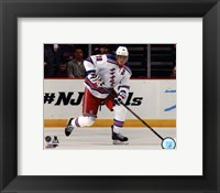 Framed Marc Staal on ice 2013-14